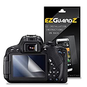 (5-Pack) EZGuardZ Screen Protector for Canon EOS 700D, EOS Rebel T5i (Ultra Clear)