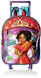 Disney Girls' Elena 12 Rolling Backpack, Red