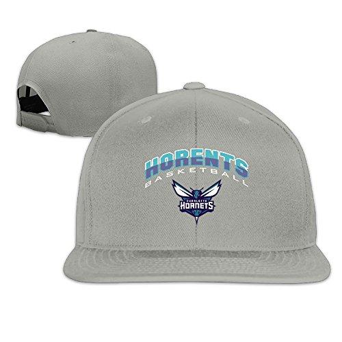 - Charlotte Hornets UNK Logo UNK Cool Basketball Unisex Flat Billed Trucker Cap