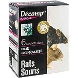 Raticide / Souricide blé concassé 6 sachets dose