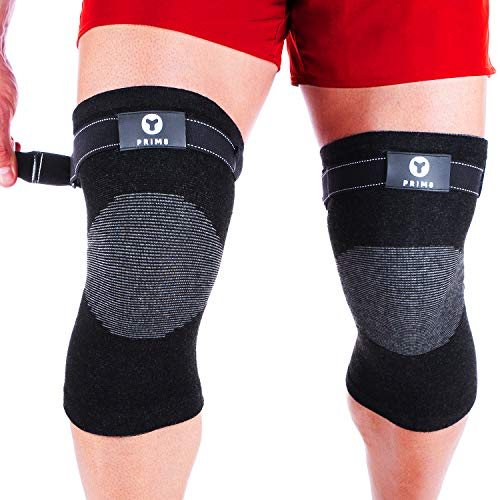 (Knee Compression Sleeve No Roll Down- Pair)
