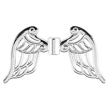 Filigrane Engelsflügel Silber Spacer Zwischenperlen Tibetanische Flügel Engelsanhänger Perlenengel Schutzengel Engelflügel Anhänger Basteln