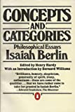 Concepts and Categories, Isaiah Berlin, 0140058052