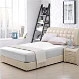 Elaine Karen 100% Cotton Fitted Bed Sheet - King Size - White