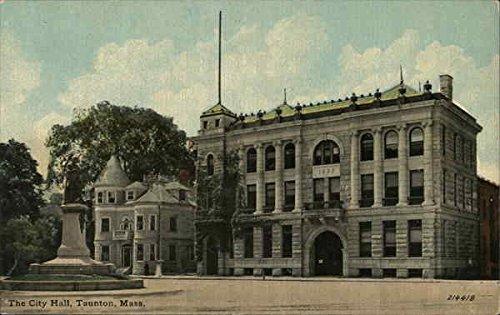 City Hall Taunton, Massachusetts Original Vintage Postcard