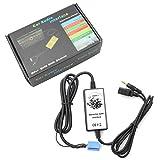 Amooca Car Car MP3 USB Interface Adapter Audio Car Digital Music Cd Changer 3.5mm Input Aux interface For VW 8Pin 1998-2008 Bettle 1998-02 Golf 1999-2002 GTI 1998-2001 Jetta 1998-2000 Passat