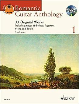Romantic Guitar Anthology Vol. 1 BK/Performance CD (Schott Anthology Series) (2008-10-01)