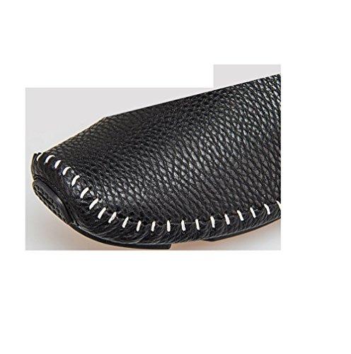Casual D'affaires Chaussures Brigade De Chaussures Steps Femme Black en Cuir Worke Bottes Printemps Hommes Loisirs gAdxqCg