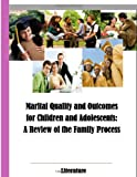 Marital Quality and Outcomes for Children and Adolescents: a Review of the Family Process Literature, U.S. Department of Health and Human Services, 1499590555