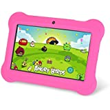 Zeepad Kids TABZ7 Android 4.4 Quad Core Five Point Multi Touch Tablet PC, 7, 4GB, Kids Edition, Pink