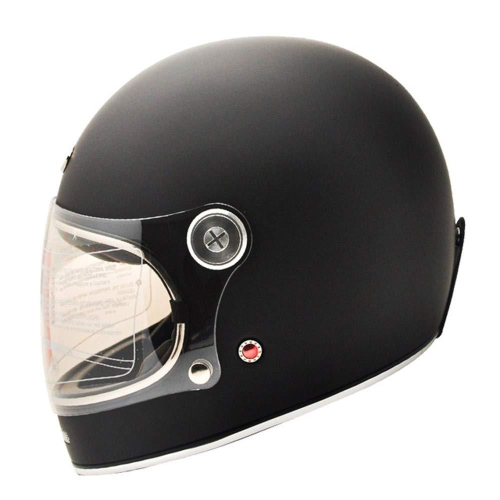 M Casco Moto Integrale In Fibra Di Carbonio Vintage Completamente Coperto Moto Scooter Autociclo Ultraleggero Helmet-4