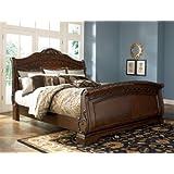 ashley north shore 66 king sleigh bed b553 best seller