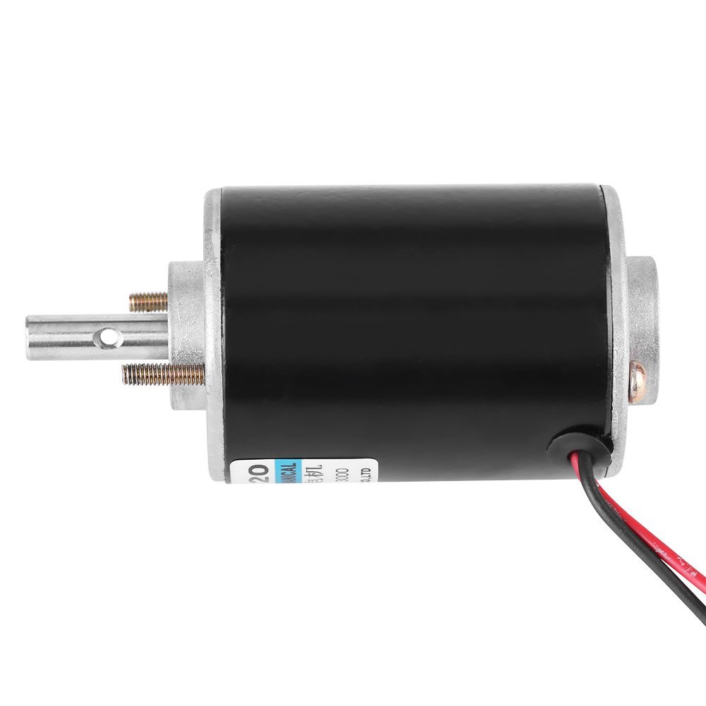 High Torque DC Motor 12V 3000RPM Permanent Magnet Motor High Speed CW/CCW  (12V DC 3000RPM)