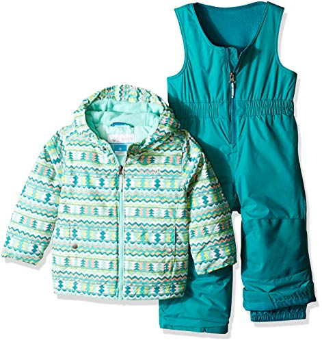 - Columbia Kids & Baby Toddler Kids Frosty Slope Set, Tippet Zigzag Print, 4T