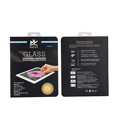 叱る紳士気取りの、きざな論争的【2枚セット】RoiCiel 液晶保護強化ガラスフィルム 硬度9H 超薄0.3mm 2.5D ラウンドエッジ加工RC-2F-FRM-02 (iPad Air1/Air2/iPad PRO9.7/PRO9.7 2017)