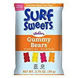 Surf Sweets Gummy Bears 2.75-Ounce, 12-Count