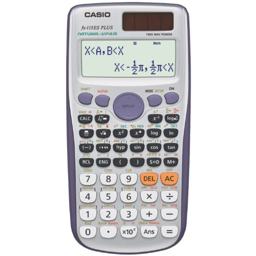 Casio fx-115ES PLUS Engineering/Scientific Calculator (Best Non Graphing Scientific Calculator)