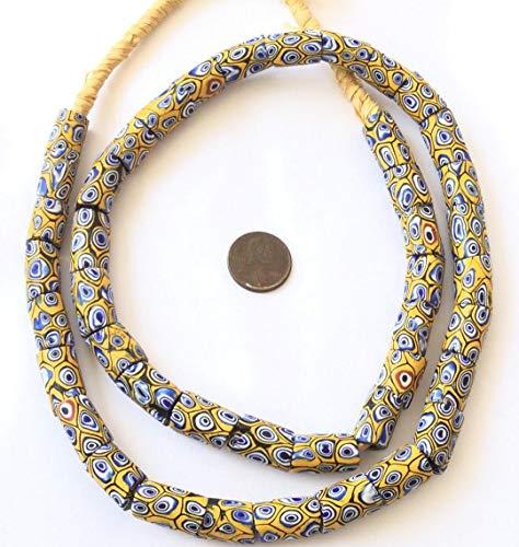 (Antique Venetian Millefiori Glass Trade Beads)