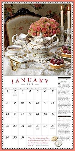 The Collectible Teapot & Tea Wall Calendar 2017