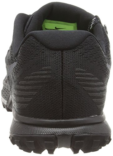 Nike Air Zoom Terra Kiger 3, Zapatillas de Running para Hombre Negro (Black / Dark Grey-Cool Grey-Wolf Grey)