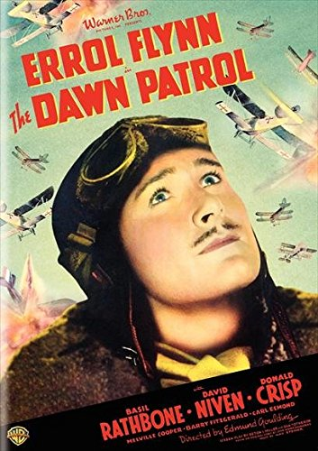 The Dawn Patrol Poster B Errol Flynn David Niven Basil Rathbone