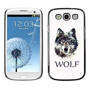 GagaDesign Phone Accessories: Hard Case Cover for Samsung Galaxy S3 - WOLF