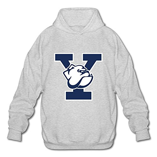 [JeFF Men's Yale University Long Sleeve Sweatshirt Hoodies Ash Large (US Size)] (Customes Halloween Maternity)