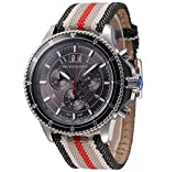 Burberry Endurance Bu7601 Black Chronograph Men's Watch
