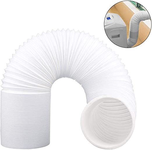 """3m Vent Hose Pipe PVC Duct 5/"""" Extension for LG Air Conditioner Conditioning Unit"""