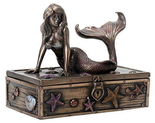 Bronze Colored Mermaid Treasure Knick Knack product image