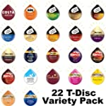 22 Tassimo T Discs Pods Variety Pack