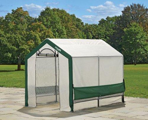 Shelterlogic 5 6 Greenhouse : Shelterlogic grow it organic growers greenhouse with mesh