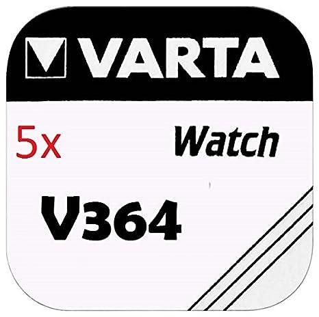 Varta Knopfzellen 364 Sr621sw 5 Stück V364 Gewerbe Industrie Wissenschaft