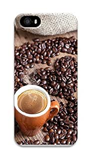 iPhone 5 5S Case A Love for Coffee 3D Custom iPhone 5 5S Case Cover