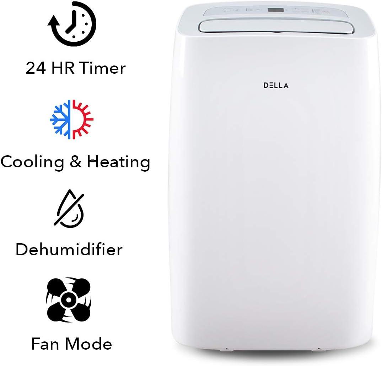 DELLA 14000 BTU Portable Air Conditioner 11000 BTU Home ...
