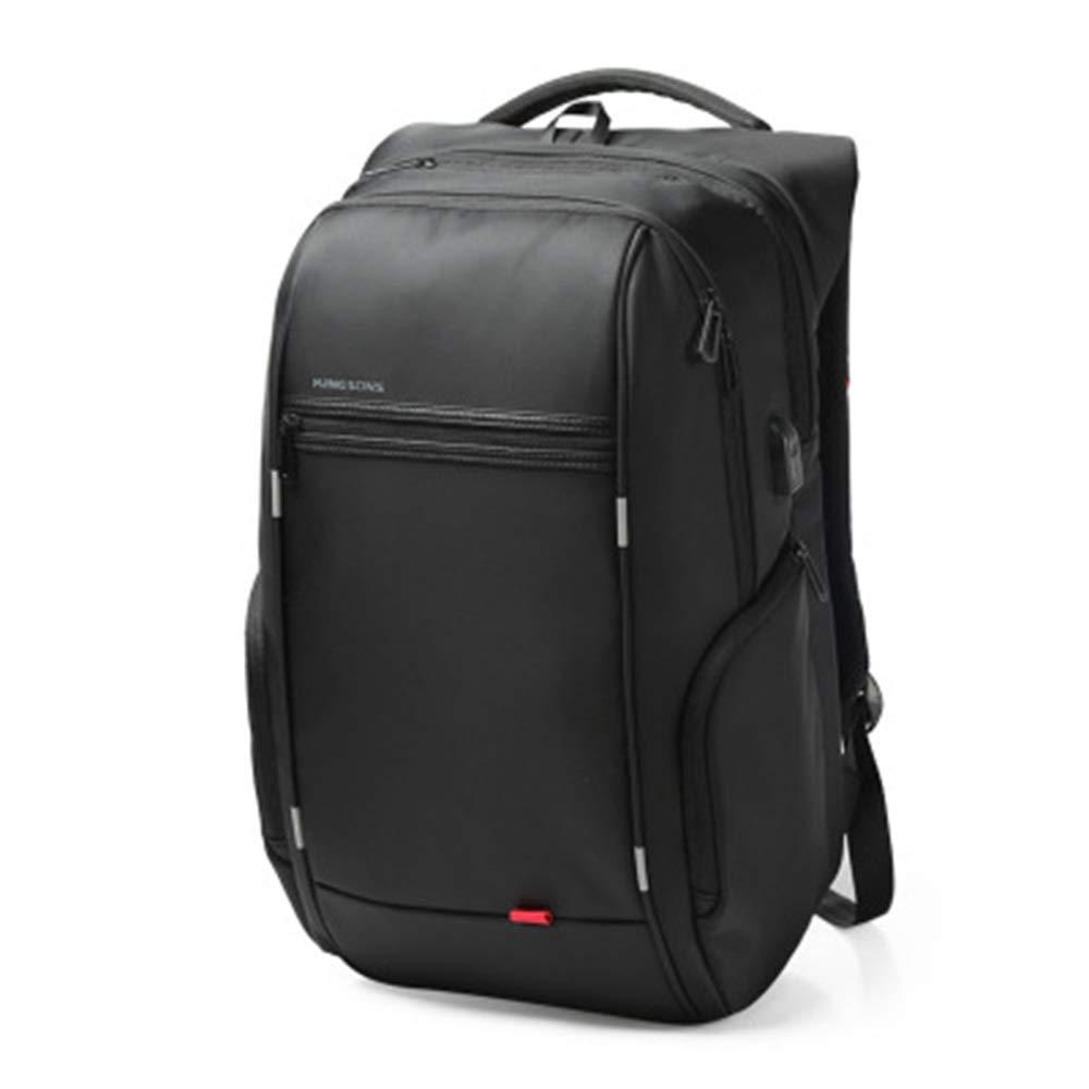 RJJ Tragbare Umhängetasche männlicher USB, der Geschäftsrucksackcomputer-Taschenreiserucksack auflädt Stabil
