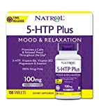 Natrol 5-HTP Plus Time Release, 100mg Tablets,150