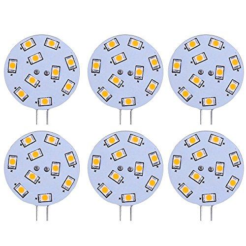 LE Bombilla LED G4 1.5W=Halógena 20W, Blanco Cálido, 6 Unidades: Amazon.es: Iluminación