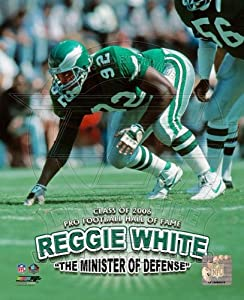 Philadelphia Eagles Reggie White 8x10 Color Photo