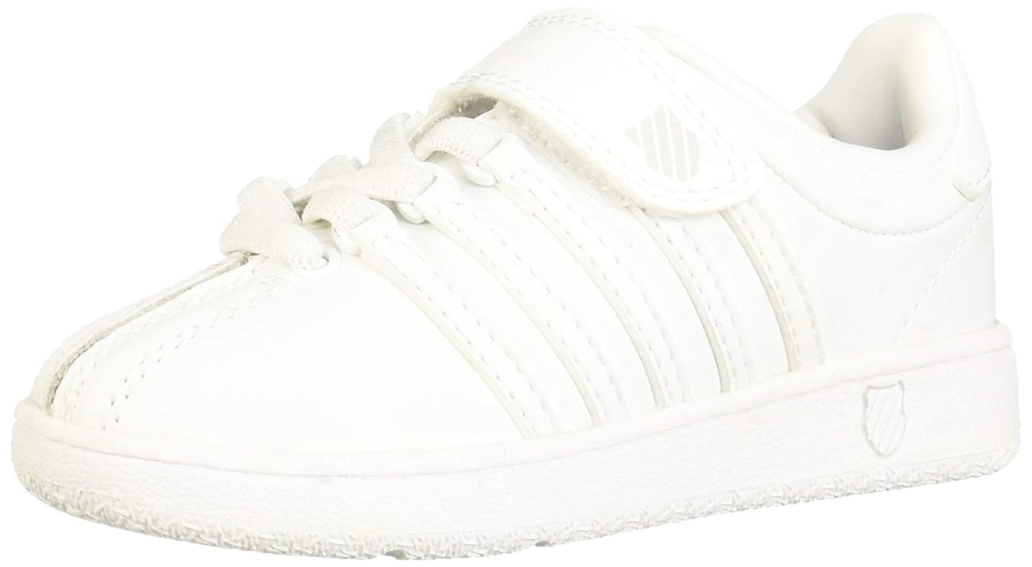 Infant//Toddler//Little Kid//Big Kid K-SWISS Classic VN Hook /& Loop Closure Sneaker