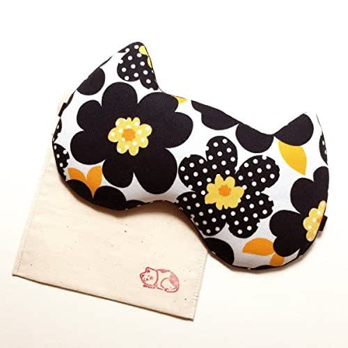 Flowers Sleep Mask / Black