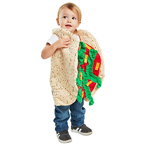 Food Baby Costumes Halloween (Baby Taco Costume)