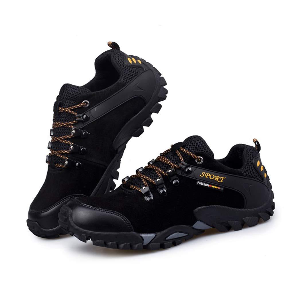 Giles Jones Men Trekking Shoes Breathable Shockproof Mountaineer Outdoor Hiking Shoes