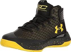 Under Armour Kids Boy's Ua Ps Curry 3zero Basketball (Little Kid) Blackblacktaxi Athletic Shoe