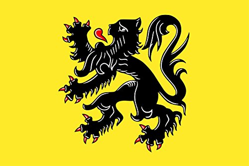 magFlags Large Flag Flanders (Flemish Region) | landscape flag | 1.35m² | 14.5sqft | 90x150cm | 3x5ft - 100% Made in Germany - long lasting outdoor flag