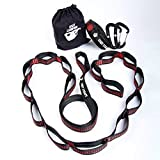 Legit Camping LGT-3001 Hammock Straps with Carabiners, per Strap-Compatible with All Camping Hammocks, Long
