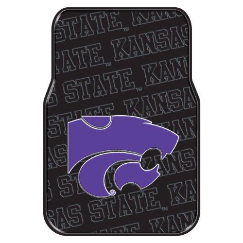 The Northwest Company Officially Licensed Ncaa Kansas State Wildcats Two Pack Front Car Floor Mat