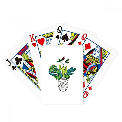 beatChong Horus Botany Mummy Plant Cactus Poker Playing Card Tabletop Board Game Gift by beatChong