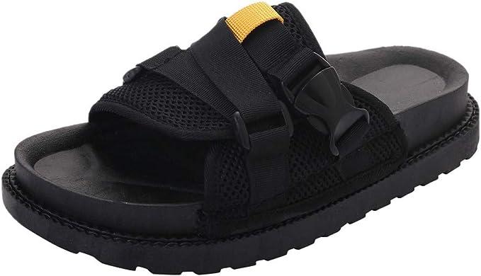DressLksnf Zapatos de Mujer Ligeros Comodo Al Aire Libre Sandalias Tallas Grandes Antideslizantes Sandalias de Playa Verano de Casual Sandalias: Amazon.es: Ropa y accesorios