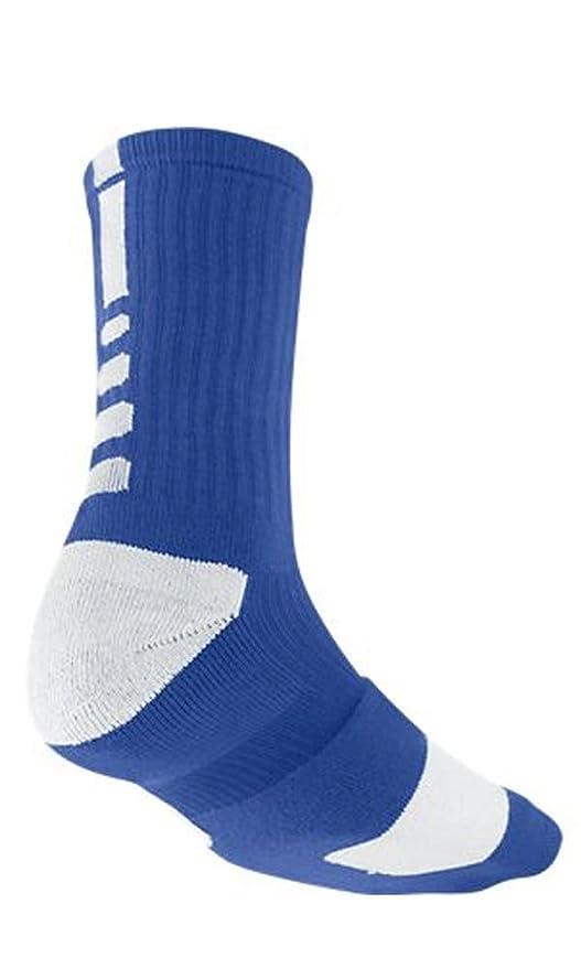 9b76238ac Amazon.com : Nike Elite Men's Cushioned Crew Sock Dri-Fit Basketball ...